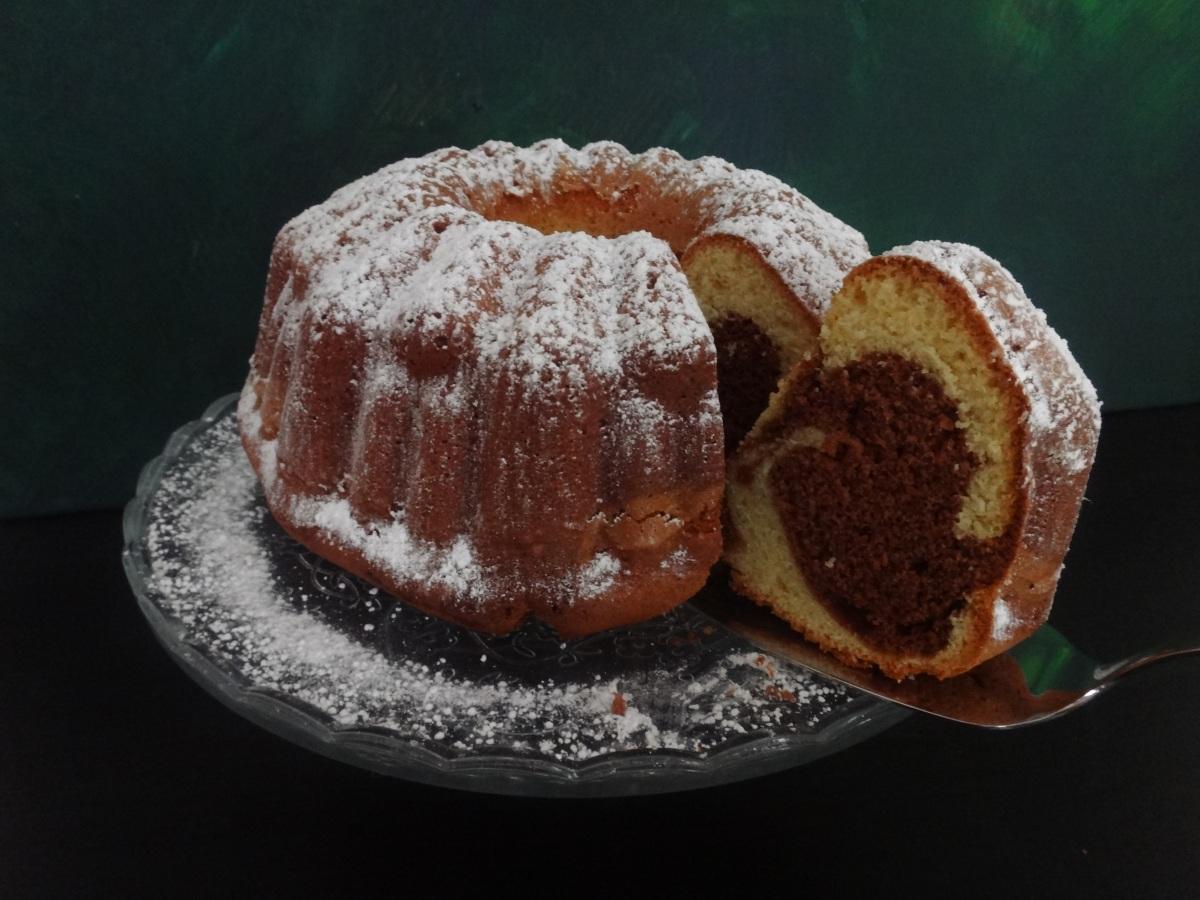 classic austrian marble cake